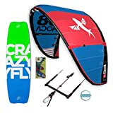 Best Roca Freeride Set - Kite Komplett Paket -inkl. Wavegorilla Kite Shop ® Air Freshener (12 m Roca - 138 cm Allround - 52cm RP Bar)