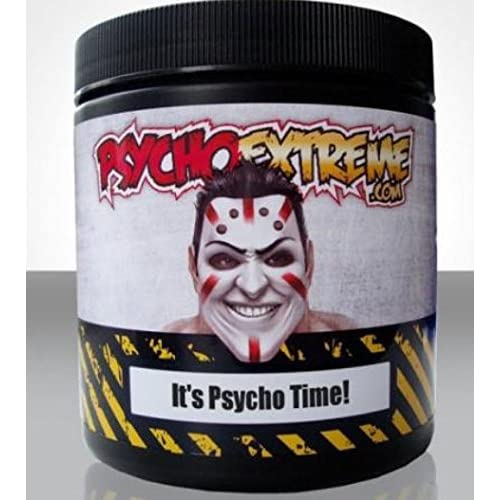 51gwrmecz7L. SS500  - Psycho's Ultimate Pre-Workout Powder Supplement - Highest Grade Ingredients to Give You The Best Workout of Your Life…