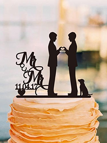vintage-mr-and-mr-wedding-cake-topper-2grooms-gay-wedding-cake-topper-con-cane
