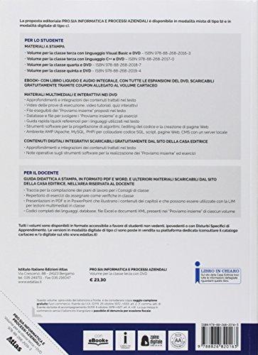 Pro.Sia. Informatica e processi aziendali. Per la 3ª classe delle Scuole superiori. Con e-book. Con espansione online