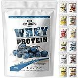 Whey Protein - 500g Beutel C.P. Sports, Eiweißpulver 12 geschmacksrichtungen (Cookies&Cream)