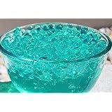 5 packets of Turquoise Blue Aqua Water Crystal Soil Bio Gel Ball Beads Wedding Vase Centerpiece