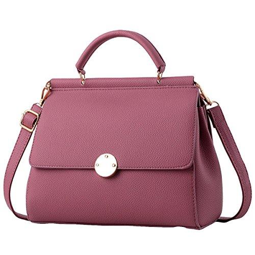 Art Und Weise Beiläufige Atmosphäre Einfache Und Elegante Handtaschen-Schulterbeutel Kurierbeutel Pink