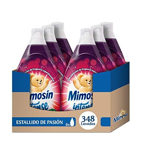 Mimosín Intense Estallido de Pasión Suavizante Concentrado para 58 lavados - 6 Suavizantes