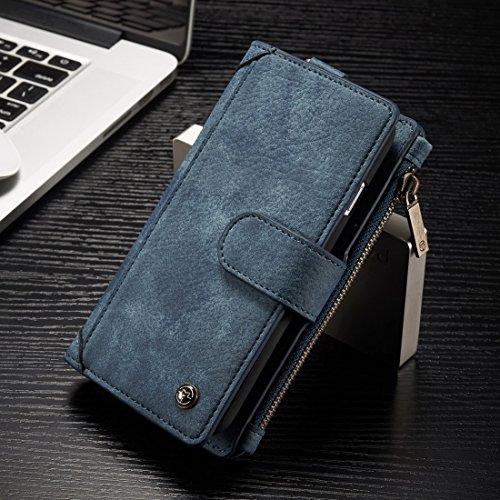Proteggi il tuo iPhone, G4 / G9 / E12 / BA15D 7W 80SMD 5730 450LM caldo / freddo LED Bianco dimmerabili AC 110-130V 5Pcs Per il cellulare di Iphone ( Colore : Blu ) Blu