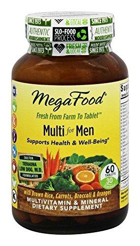 Multi for Men, 60 Tablets – MegaFood