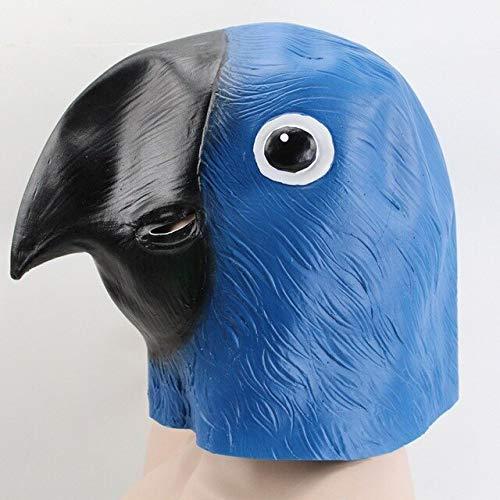 Gruselige Tauben Kopf Maske 3D Latex Prop Tier Cosplay Kostüm Party Halloween Neue Tauben Maske Latex Riesen Vogel Kopf Halloween, Papagei