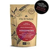 Vita Et Natura Bio Herzsprung - 75 g lose KIWU-Kräutertee-Mischung für den Mann nach spezieller Rezeptur