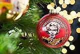 Krebs & Sohn Motiv-Weihnachtskugeln 3er Set - Christbaumkugeln aus Glas mit Aufdruck - Hollywood Filmstar - Rot, Gold
