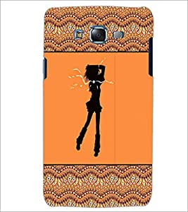 PrintDhaba Girly Design D-2602 Back Case Cover for SAMSUNG GALAXY ON 5 (Multi-Coloured)