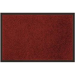 Tapis Déco Tapis - Anti Poussière - Rouge 40 x 60 cm
