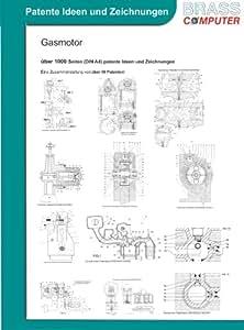 Gasmotor, über 1000 Seiten (DIN A4) patente Ideen und Zeichnungen