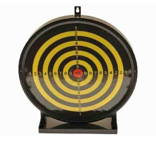 HFC Zielscheiben-Set für BB Airsoft, groß, 30cm, rund, klebend