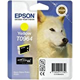 Epson T0964 Inkjet Cartridge UltraChrome K3 Page Life 890pp Yellow Ref T09644010