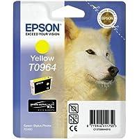 Epson T0964 Inkjet Cartridge UltraChrome K3 Page Life 890pp Yellow Ref T09644010