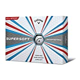 Callaway Unisex Supersoft Golf Balls, White, One Dozen