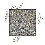 25 kg Splitt Quarzit Grau Ziersplitt Deko Dekoration Splitt Zierkies Fugensplitt Körnung 2/5 mm