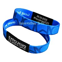 EXPO 2020 Dubai Blue wristband strap bracelet (blue)