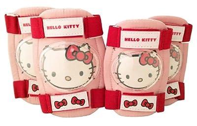 Hello Kitty Mädchen Schoner Knie und Ellenbogen Set 4 tlg., rosa, 802408