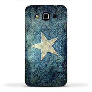 FUNKYLICIOUS Galaxy Grand 3 Back Cover Vintage national flag of Somalia Design (Multicolour)