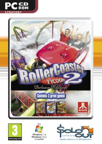 Rollercoaster Tycoon 2 Deluxe (PC CD) [Importación inglesa]