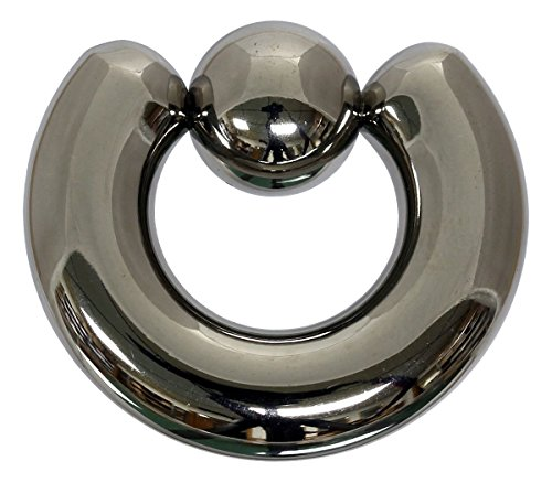 Pain-is-Art Klemmkugelring 9,0 x 14 mm aus 316L Chirurgenstahl - Piercing BCR Ball Closure Ring