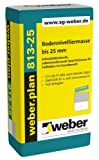 weber.plan 813-25, , 25kg - Bodennivelliermasse bis 25 mm