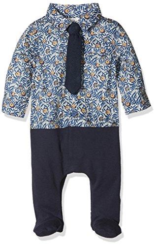 fef7295117536 Mamas   Papas MK Lib Shirt   Tie Aio-Body Bebé-Niñas Azul Azul