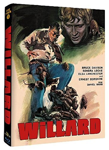 Willard - Mediabook - Phantastische Filmklassiker Nr. 2 [Blu-ray] [Limited Edition]
