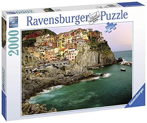 Ravensburger 16615 Cinque Terre Puzzle 2000 Pezzi