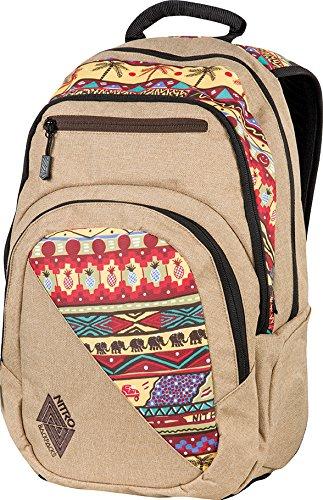 Nitro Stash Rucksack, Schulrucksack, Schoolbag, Daypack, Abstract, 49 x 32 x 22 cm, 29 L