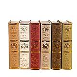 Livre de simulation Livre de photographie Prop Livres anciens Livres en faux cuir Boîtes de lecture en faux livre Ancienne bibliothèque Accessoires de décoration nostalgique pour salle d'étude