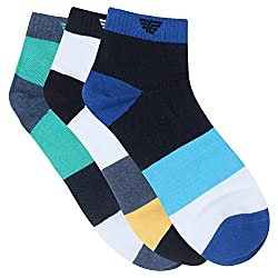 Red Tape Mens Cotton Athletic Socks (RSX250_Multicoloured_one size)