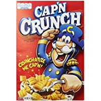 Quaker Captain Crunch Cereal, Original, 14 Ounce