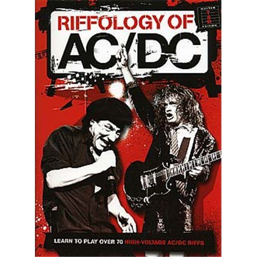 Riffology Of AC/DC. Partitions pour Guitare
