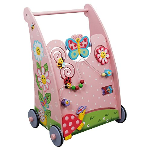 Fantasy Fields Magic Garden Kids Baby Holz Activitätsroller TD11639A