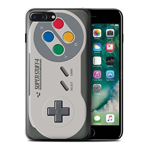 Custodia/Cover Rigide/Prottetiva STUFF4 stampata con il disegno Console di gioco per Apple iPhone 5C - Super Nintendo Super Nintendo