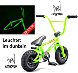 Rocker, mini-BMX I-Rok + adesivo e bracciale Fantic26, Fukushima (Nachts leuchtend)