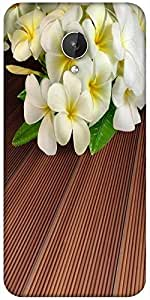Snoogg Butterfly On Flowers Designer Protective Back Case Cover For Micromax Canvas Spark Q380