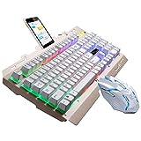 Best retroilluminati Tastiere - XWEM Tastiera e Mouse retroilluminati RGB, sensibilità Meccanica Review