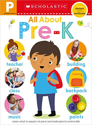Get Ready for Pre-K Skills Workbook: Preschool Readiness (Scholastic Early Learners) por Scholastic