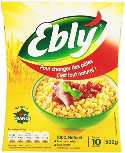 EBLY Blé Cuisson 10 Min 500g