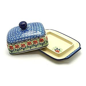 Polish Pottery Butter Dish – Maraschino