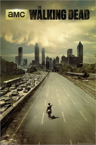 Póster The Walking Dead - city - cartel económico
