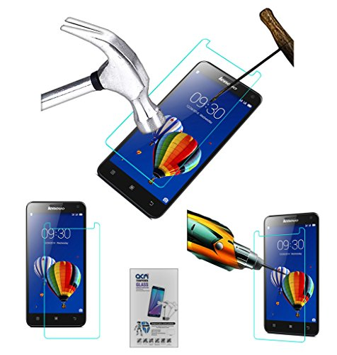 Acm Tempered Glass Screenguard for Lenovo S580 Screen Guard Scratch Protector  available at amazon for Rs.179