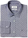 #5: Blackberrys Men's Checkered Slim Fit Formal Shirt