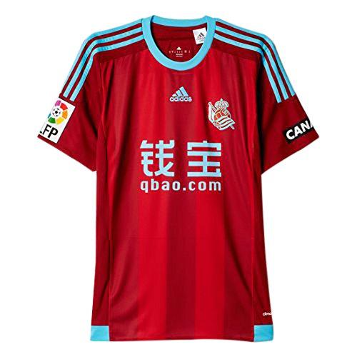 adidas Away Royal Society 2015/2016–T-Shirt Offizielles M Rot