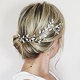 Couronne de vigne pour cheveux en cristaux Swarovski - Pour mariée et demoiselle d'honneur - Aukmla