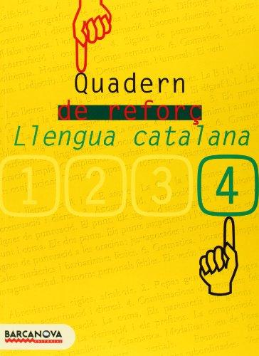 Quadern de reforç de llengua catalana 4 (Materials Educatius - Eso - Llengua Catalana) - 9788448917173