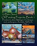 Best Oil Painting Books - 10 Bite Sized Oil Painting Projects: Book 1: Review